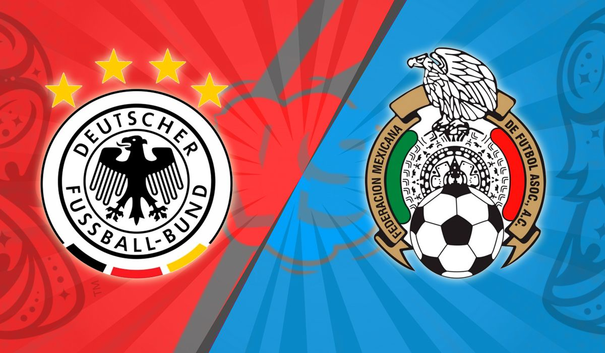 México sorprendió y venció a Alemania en el debut en Rusia 2018