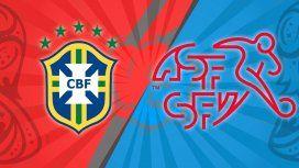Brasil vs. Suiza por el Grupo F del Mundial: horario