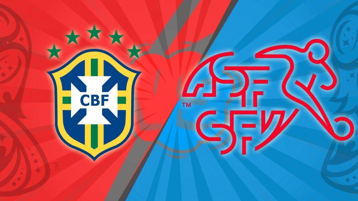 Día de sorpresas: Brasil se durmió y Suiza logró un valioso empate en el debut en el Mundial