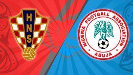 Croacia vs. Nigeria por el Grupo D del Mundial: horario