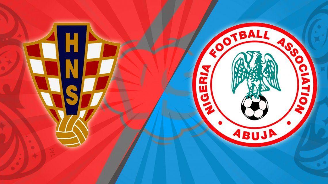 Croacia vs. Nigeria por el Grupo D del Mundial: horario, formaciones y TV
