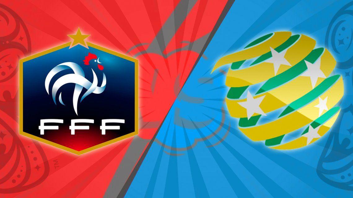 Con un golazo de Pogba, Francia derrotó a Australia y lustra la chapa de candidato