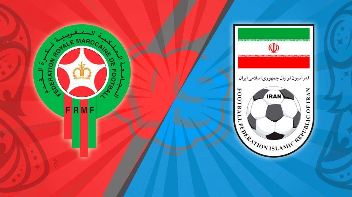 Marruecos - Irán, por el Grupo B del Mundial: horario, formaciones y TV