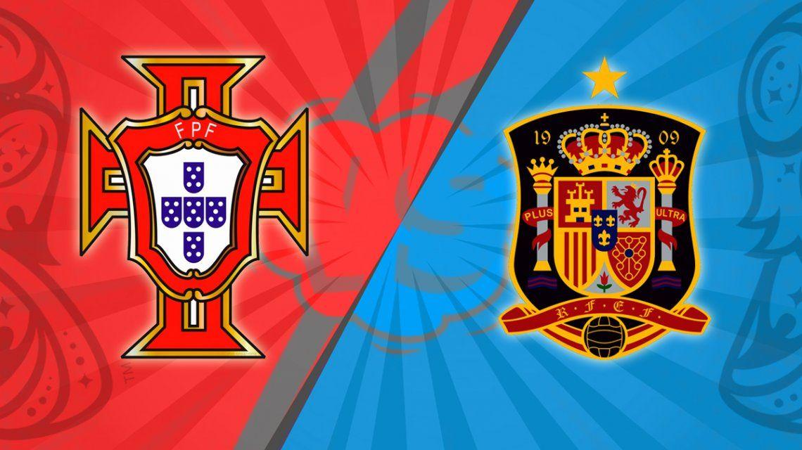 Portugal - España, por el Grupo B del Mundial: horario, formaciones y TV