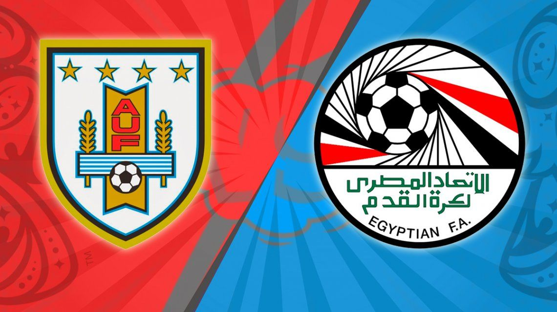 Uruguay - Egipto, por el Grupo A del Mundial: horario, formaciones y TV