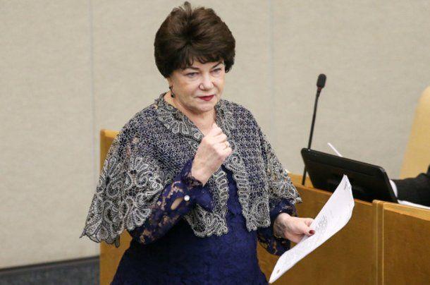 Diputada Tamara Pletnyova.