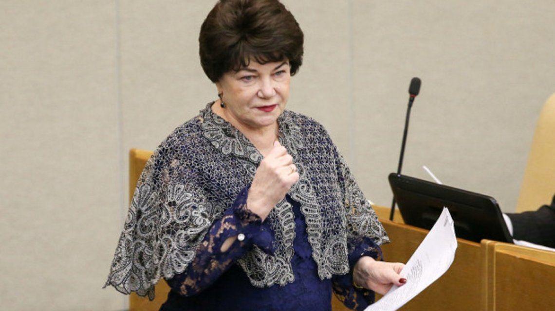DiputadaTamara Pletnyova.