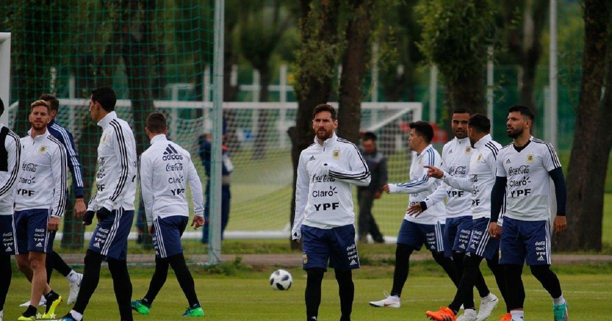 Selección argentina enBronnitsy - Crédito:@Argentina