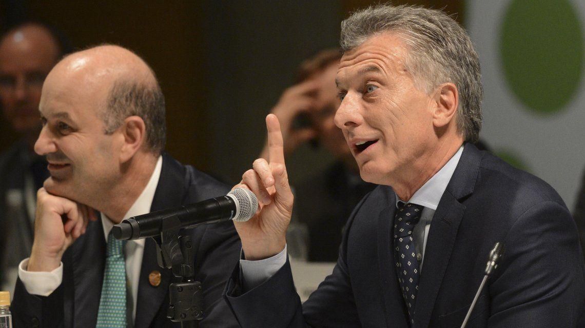 Federico Sturzenegger y Mauricio Macri