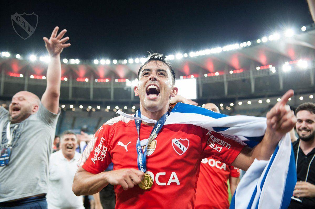 Torito Rodríguez fue campeón de la Copa Sudamericana
