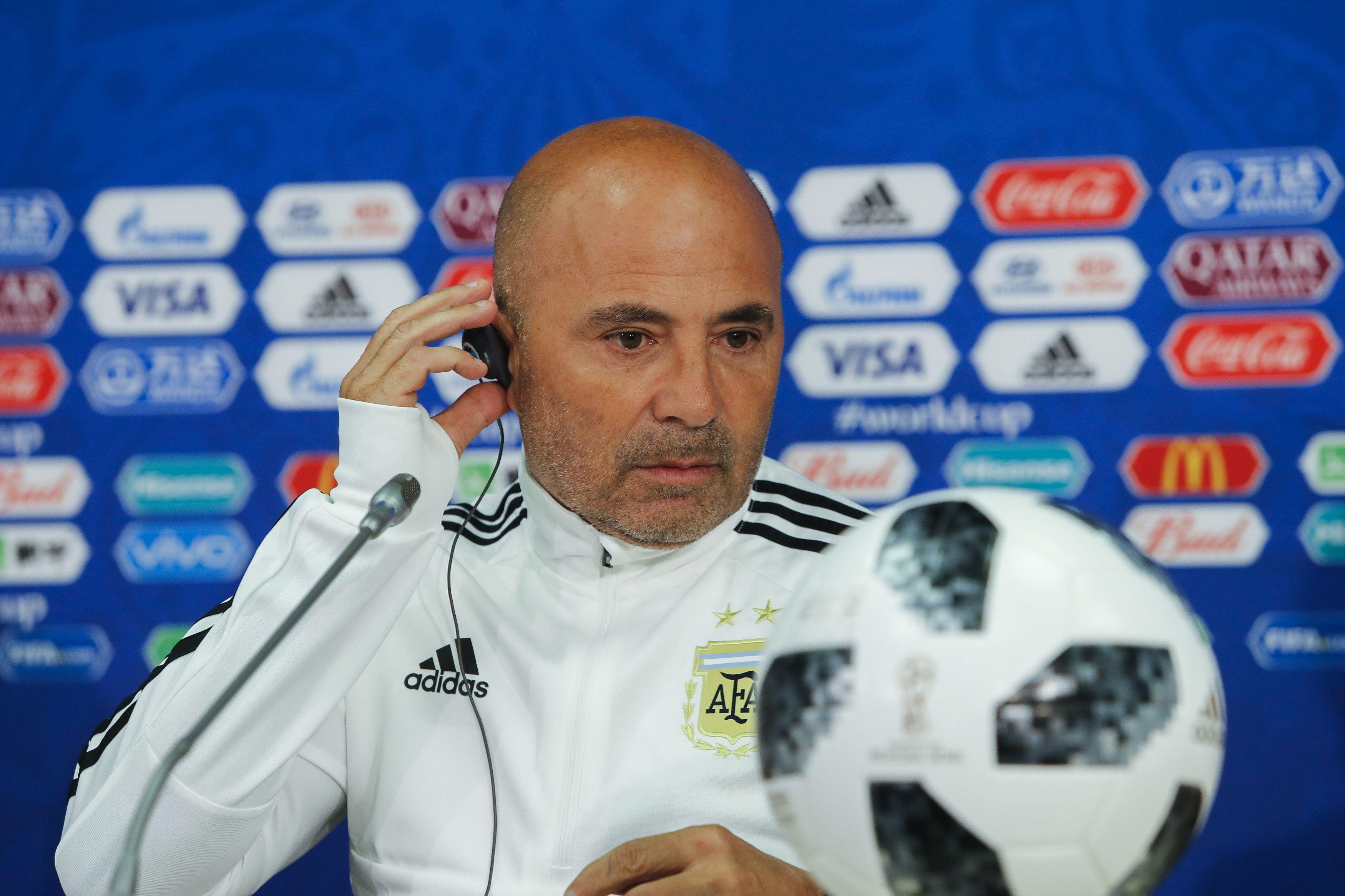 Sampaoli habló a un día del duelo ante Croacia: Vamos a buscar la clasificación