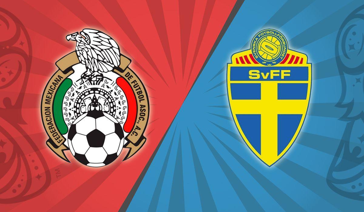 México vs. Suecia por el Grupo F del Mundial: horario, formaciones y TV