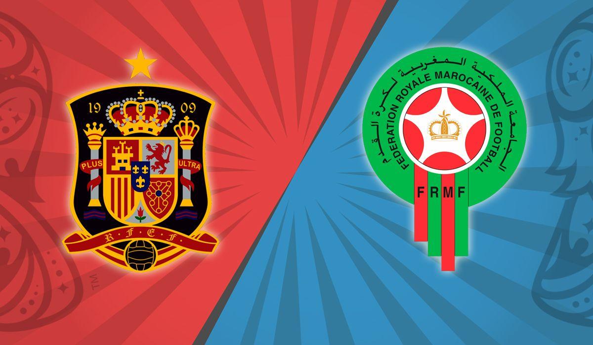 España vs. Marruecos por el Grupo B del Mundial: horario, formaciones y TV