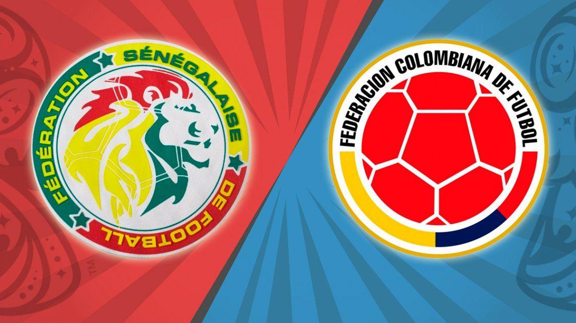 Senegal vs. Colombia por el Grupo H del Mundial: horario, formaciones y TV