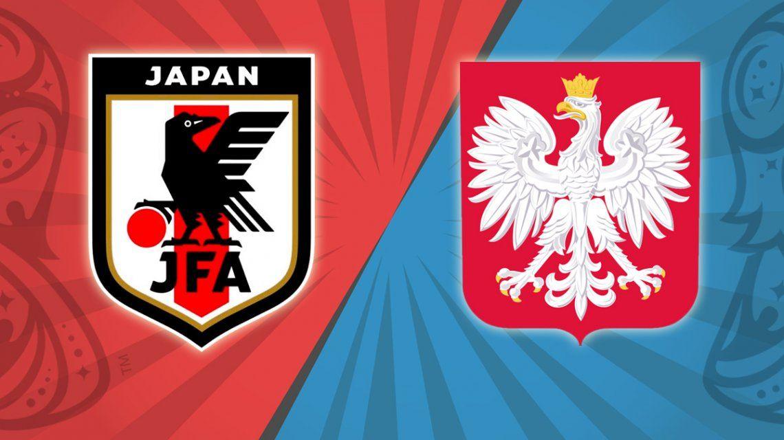 Japón vs. Polonia por el Grupo H del Mundial: horario, formaciones y TV