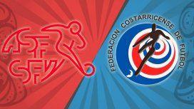 Suiza vs. Costa Rica por el Grupo E del Mundial: horario