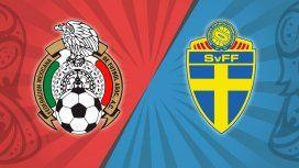México vs. Suecia por el Grupo F del Mundial: horario