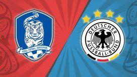 Alemania busca la clasificación y Corea va por un milagro