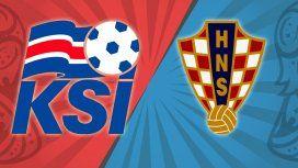 Islandia - Croacia por el Grupo D del Mundial: horario