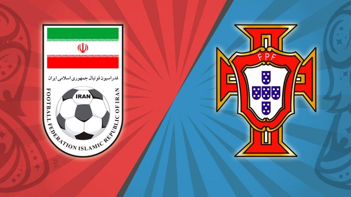 Irán vs. Portugal por el Grupo B del Mundial: horario, formaciones y TV