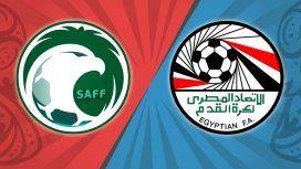 Arabia Saudita vs. Egipto por el Grupo A del Mundial: horario