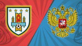 Uruguay vs. Rusia por el Grupo A del Mundial: horario
