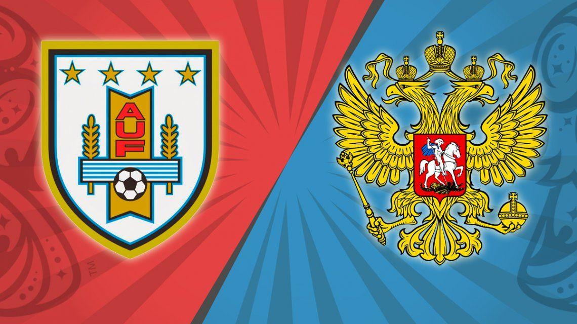 Uruguay vs. Rusia por el Grupo A del Mundial: horario, formaciones y TV