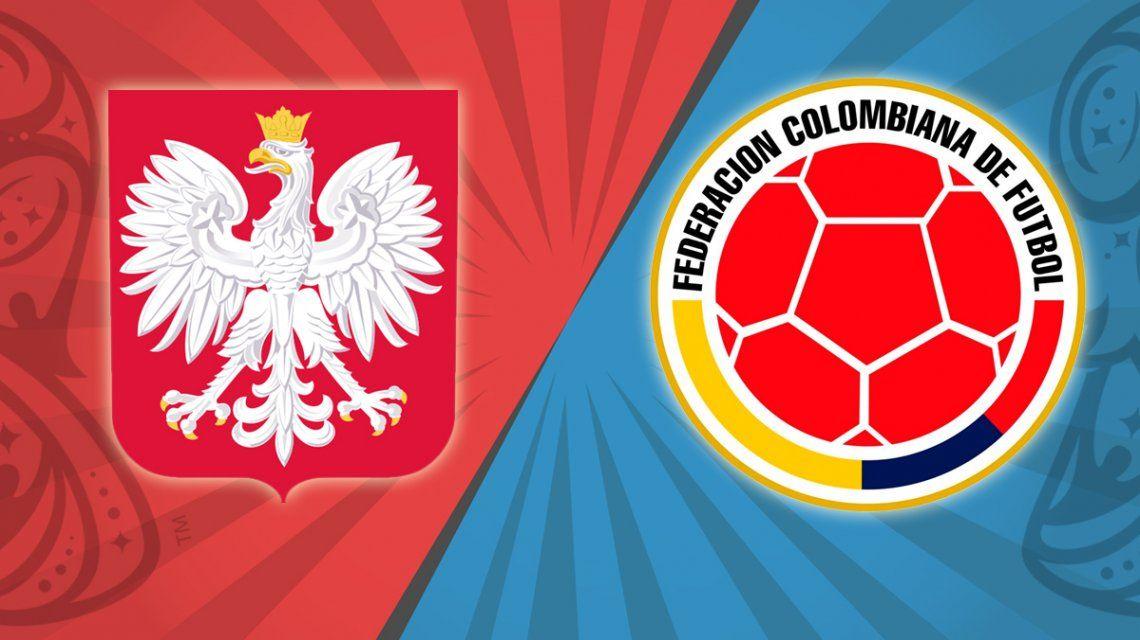 Polonia vs. Colombia por el Grupo H del Mundial: horario, formaciones y TV
