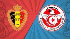 Bélgica vs. Túnez por el Grupo G del Mundial: horario