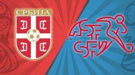 Serbia vs. Suiza por el Grupo E del Mundial: horario