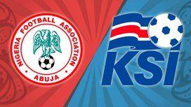 Nigeria vs. Islandia por el Grupo D del Mundial: horario