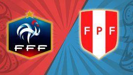 Francia vs. Perú por el Grupo C del Mundial: horario