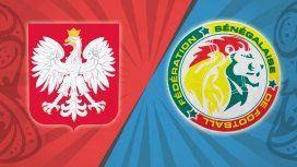 Polonia juega ante Senegal en el último encuentro de la primera fecha