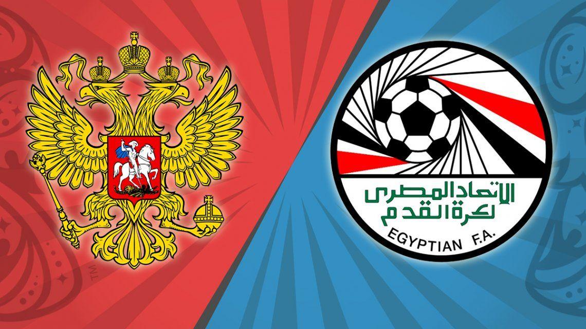 Rusia - Egipto, por el Grupo A del Mundial: horario, formaciones y TV