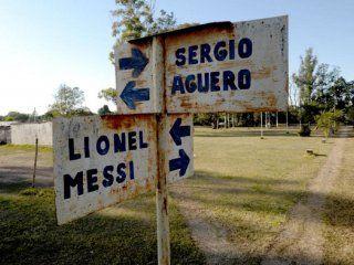 Lionel Messi y Sergio Agüero, la esquina de los dos cracks de la Selección