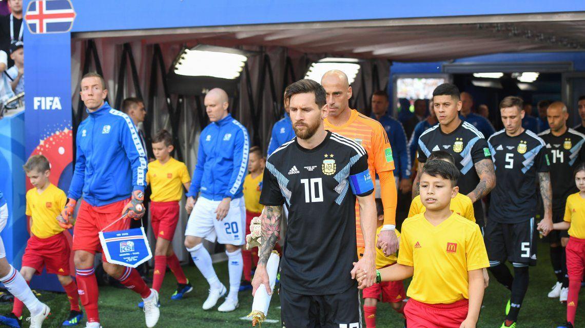 Argentina - Islandia: ¿quién fue la figura de la Selección en el debut?