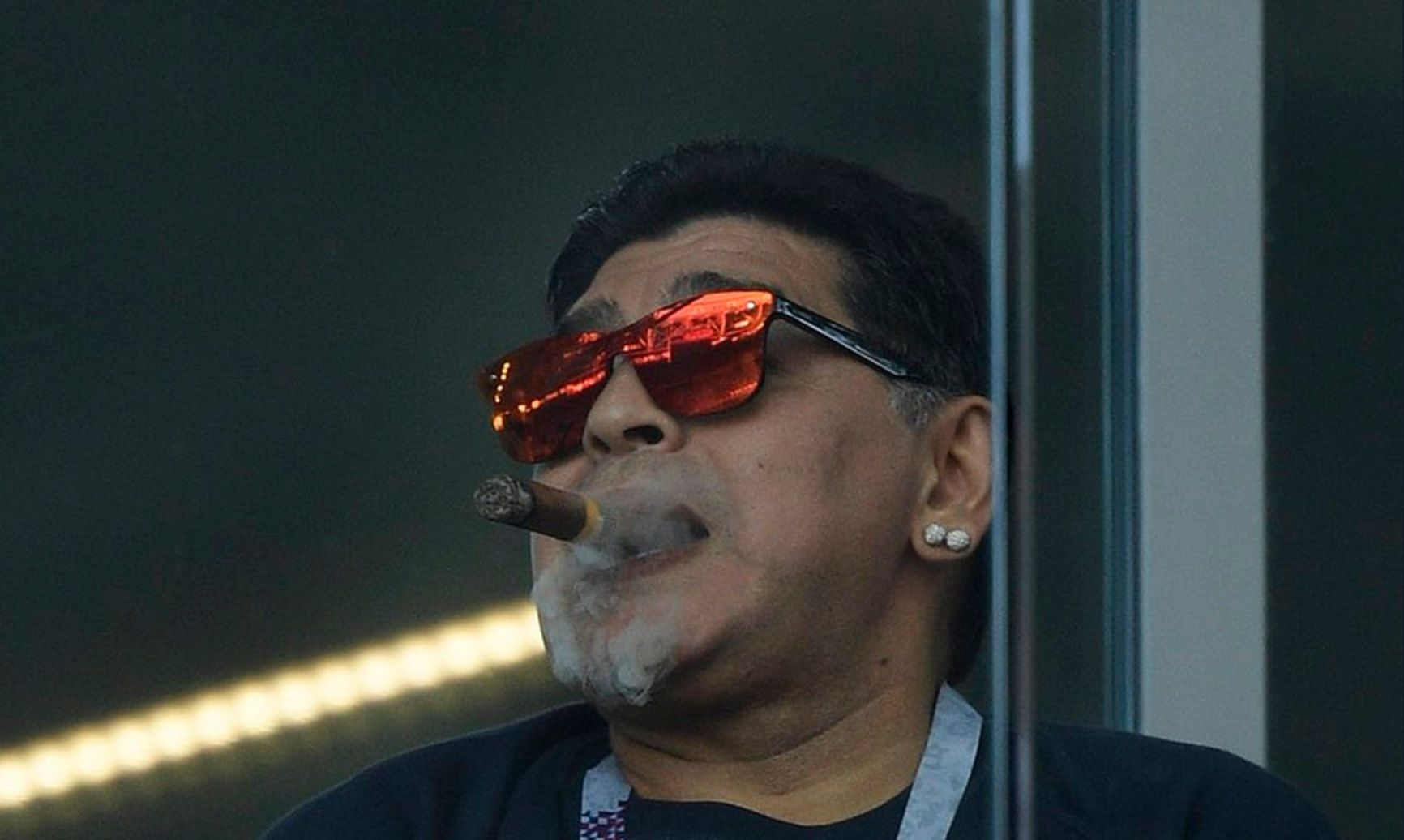 Maradona respaldo a la Selección tras el empate con Islandia