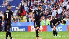 Argentina jugó mal