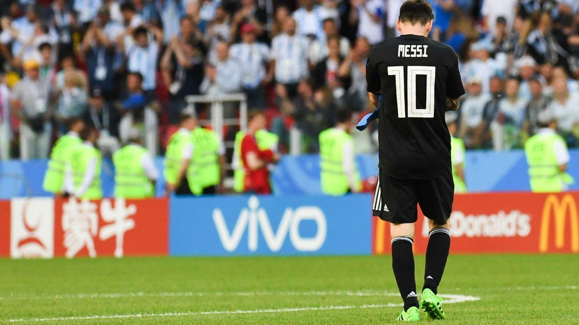 Without Messi, Argentina does not win a match in three years