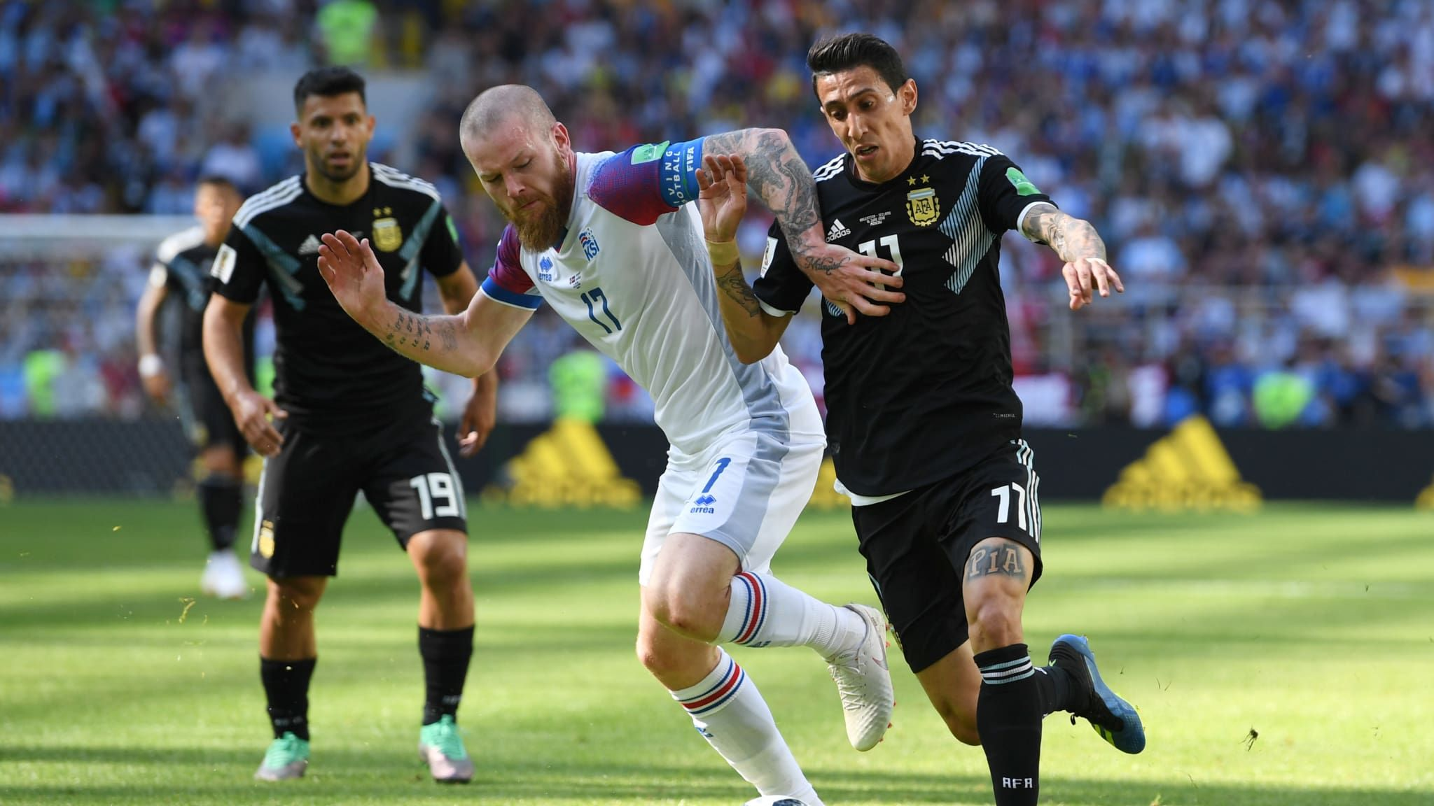 Argentina vs Islandia en el Mundial de Rusia - Crédito:fifa.com