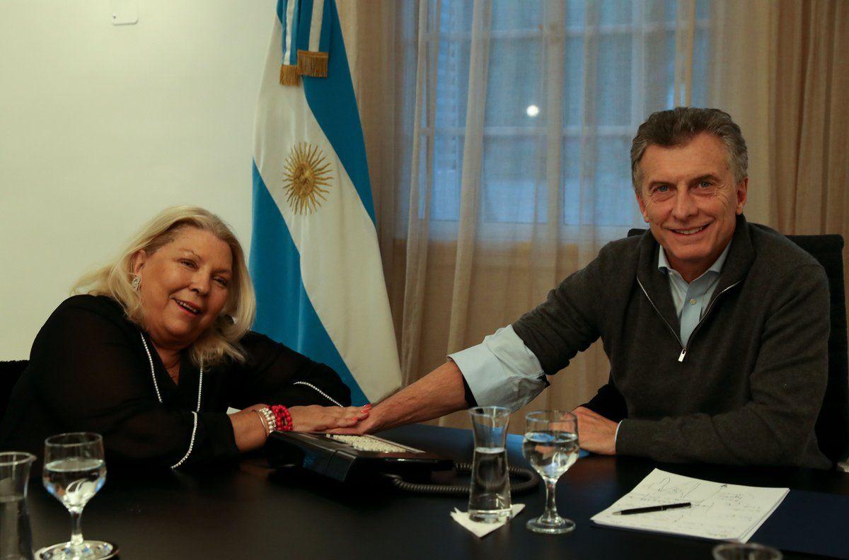 Carrió, tras el discurso de Macri: No es época de tibios ni de cobardes