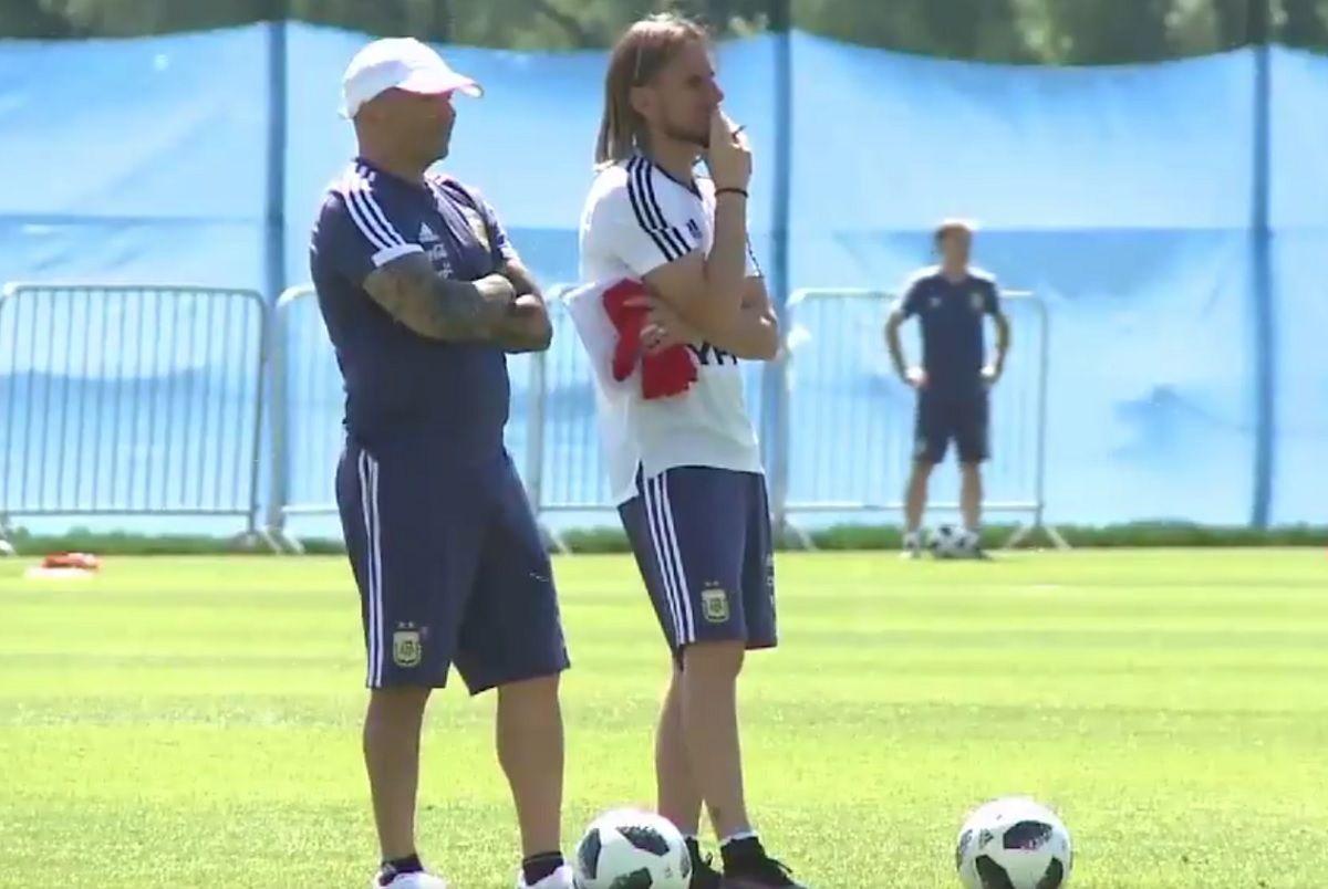 Tras su debut ante Islandia, la Selección entrenó en Bronnitsy