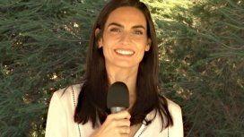 La periodista Lucía Trotz.