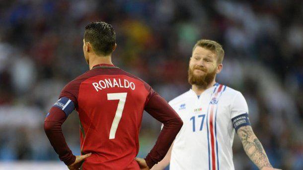En la Eurocopa 2016, Portugal e Islandia empataron 1 a 1 en el primer partido.
