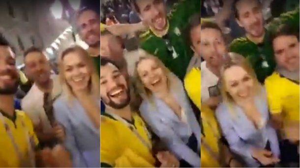 Canto machista de hinchas de Brasil en el Mundial