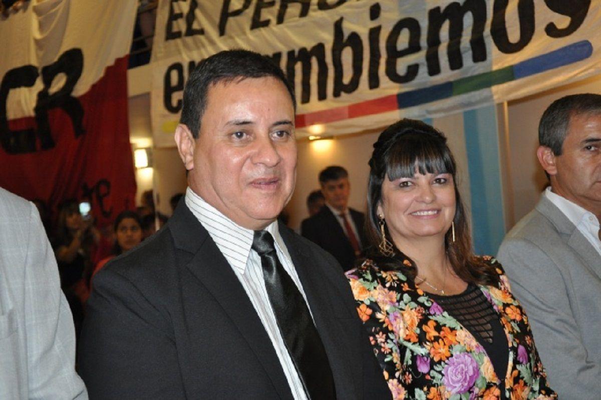 El intendente de San Vicente