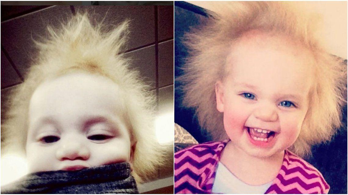 Bebé Einstein: tiene un pelo impeinable y causa furor en las redes sociales