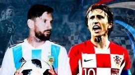 Con varios cambios, Argentina sale a ganarle a Croacia para depender de sí misma