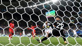 Harry Kane salvó a Inglaterra de un papelón en el debut ante Túnez