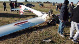 Murió tras estrellarse en el planeador